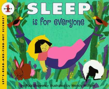 Science Books - Sleep Is for Everyone (Let's-Read-and-Find-Out Science 1)