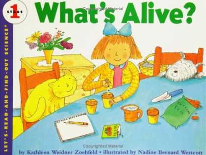 Science Books - What's Alive? (Let's-Read-and-Find-Out Science 1)