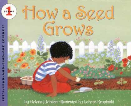 Science Books - How a Seed Grows (Let's-Read-and-Find-Out Science 1)