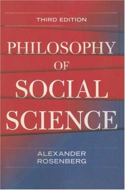 Science Books - Philosophy of Social Science