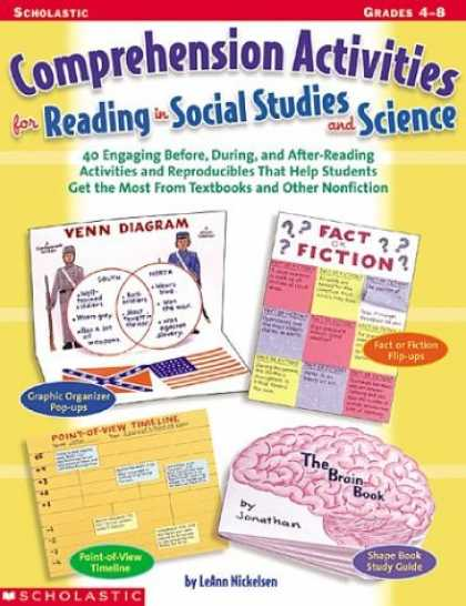 Science Books - Comprehension Activities For Reading In Social Studies And Science