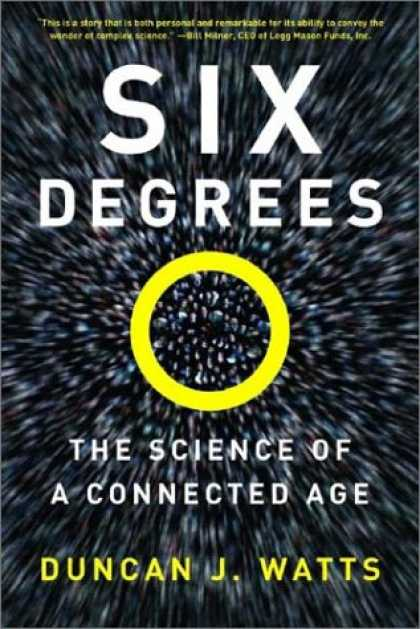 Science Books - Six Degrees: The Science of a Connected Age (Open Market Edition)
