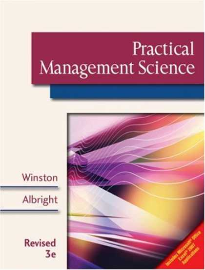 Science Books - Practical Management Science, Revised (with CD-ROM, Decision Making Tools and St
