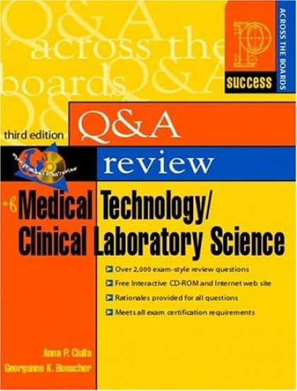 Science Books - Prentice Hall Health's Question and Answer Review of Medical Technology/Clinical