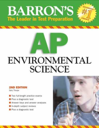 Science Books - Barron's AP Environmental Science