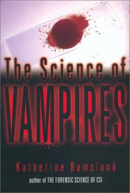 Science Books - The Science of Vampires