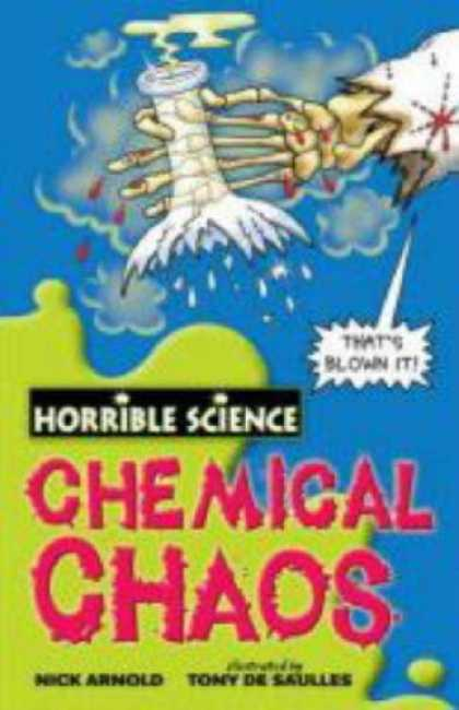 Science Books - Chemical Chaos (Horrible Science)