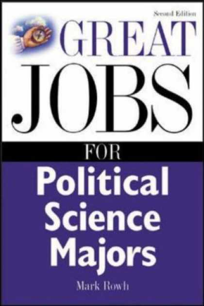 Science Books - Great Jobs for Political Science Majors