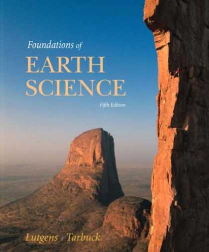 Science Books - Foundations of Earth Science (5th Edition)