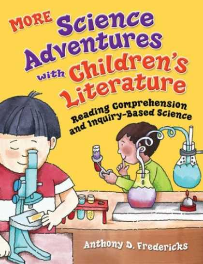 Science Books - MORE Science Adventures with Children's Literature: Reading Comprehension and In