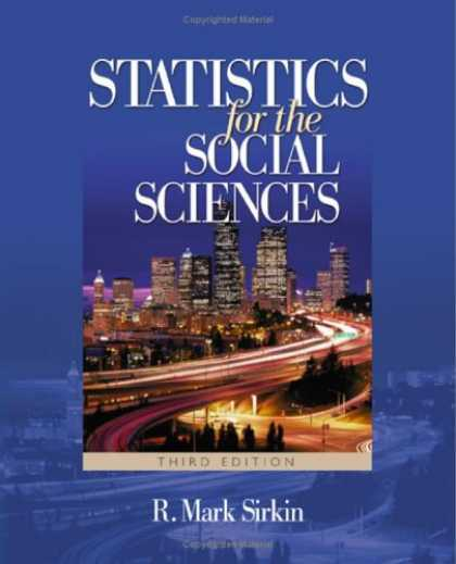 Science Books - Statistics for the Social Sciences