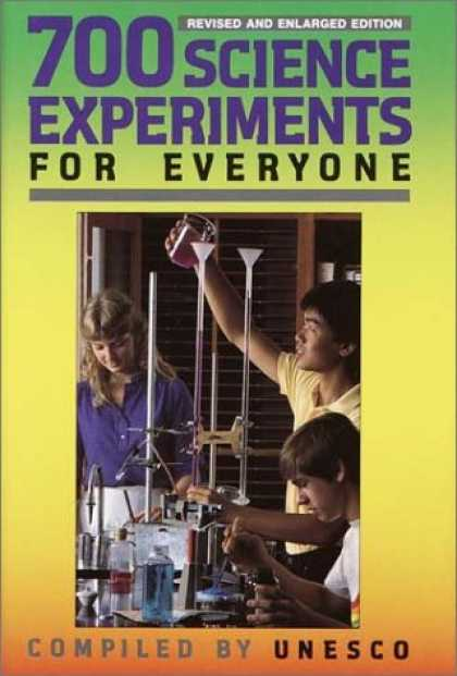 Science Books - 700 Science Experiments for Everyone