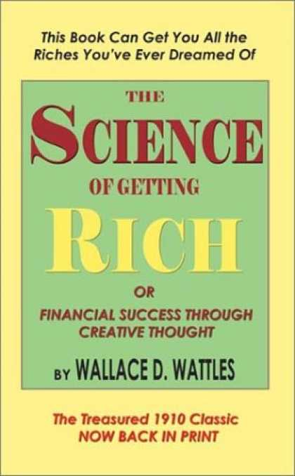 Science Books - The Science of Getting Rich or Financial Success Through Creative Thought