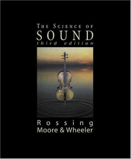 Science Books - Science of Sound, The (3rd Edition)