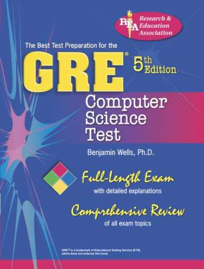 Science Books - GRE Computer Science (REA) 5th Ed. - The Best Test Prep for the GRE (Test Preps)