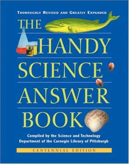 Science Books - The Handy Science Answer Book (The Handy Answer Book Series)