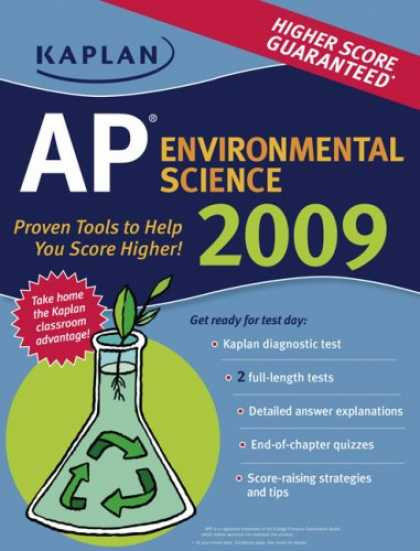 Science Books - Kaplan AP Environmental Science 2009 (Kaplan Ap Enviromental Science)