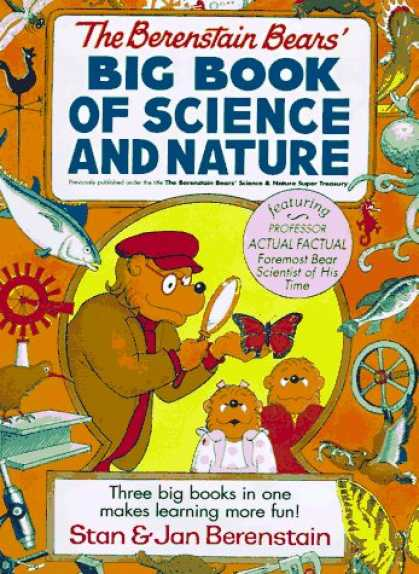 Science Books - The Berenstain Bears' Science and Nature Super Treasury