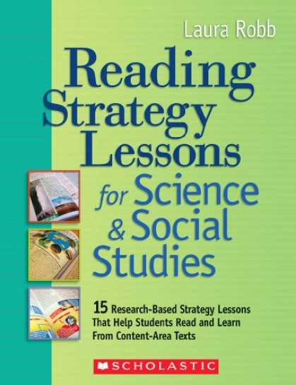 Science Books - Reading Strategy Lessons for Science & Social Studies: 15 Research-Based Strateg