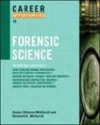 Science Books - Career Opportunities in Forensic Science