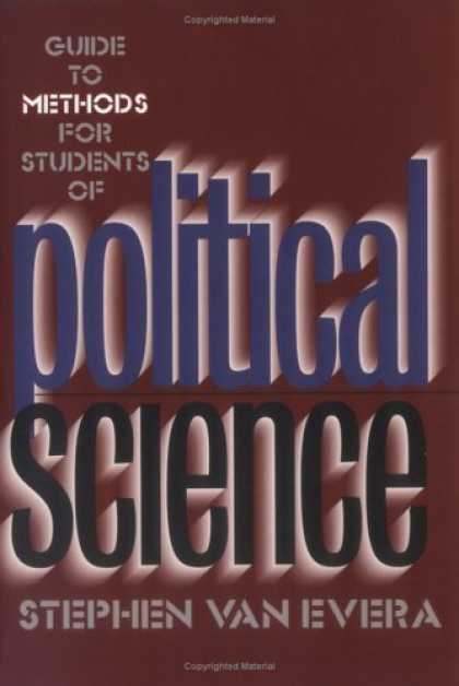 Science Books - Guide to Methods for Students of Political Science