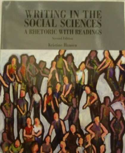 Science Books - Writing in the Social Sciences: A Rhetoric with Readings