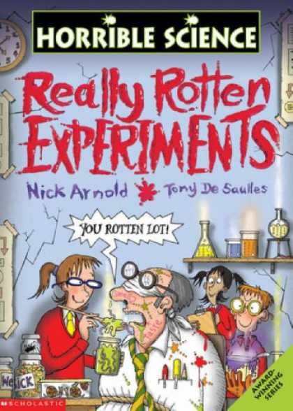 Science Books - Really Rotten Experiments (Horrible Science)