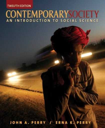 Science Books - Contemporary Society: An Introduction to Social Science (12th Edition)