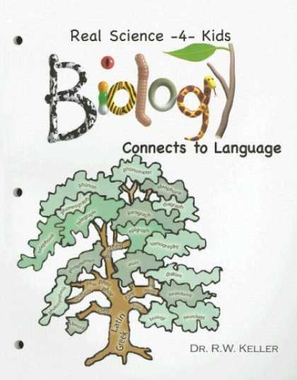 Science Books - Real Science -4- Kids, Biology I Connects to Language