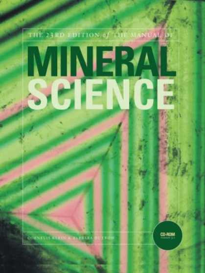 Science Books - Manual of Mineral Science (Manual of Mineralogy)