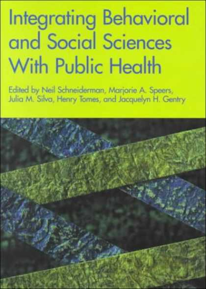 Science Books - Integrating Behavioral and Social Sciences with Public Health