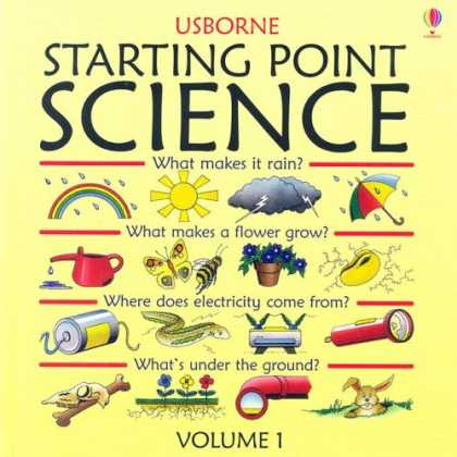 Science Books - Starting Point Science: What Makes in Rain? / What MAkes a FLower Grow? / Where