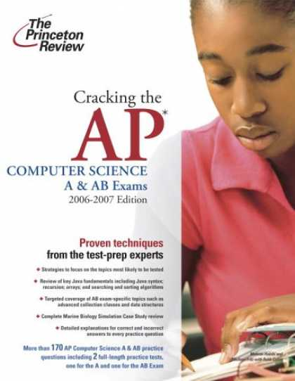 Science Books - Cracking the AP Computer Science A & AB Exams, 2006-2007 Edition (College Test P