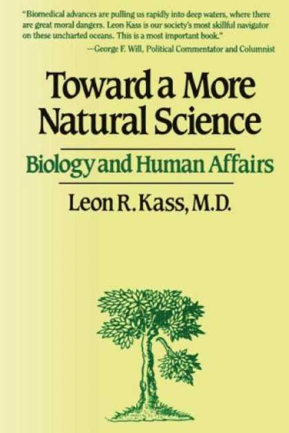 Science Books - Toward a More Natural Science