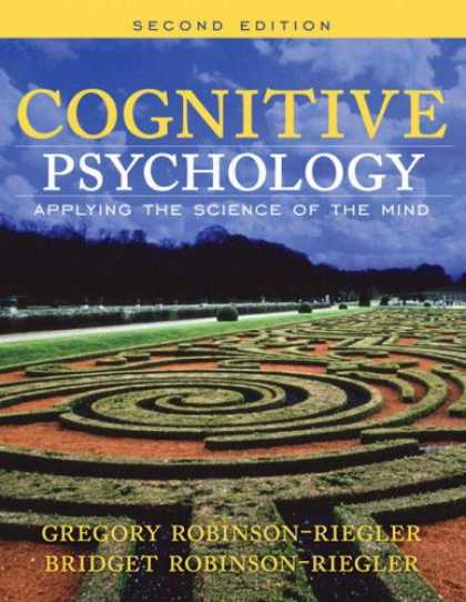 Science Books - Cognitive Psychology: Applying The Science Of The Mind (2nd Edition) (MySearchLa