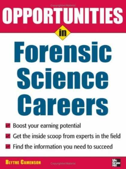 Science Books - Opportunities in Forensic Science