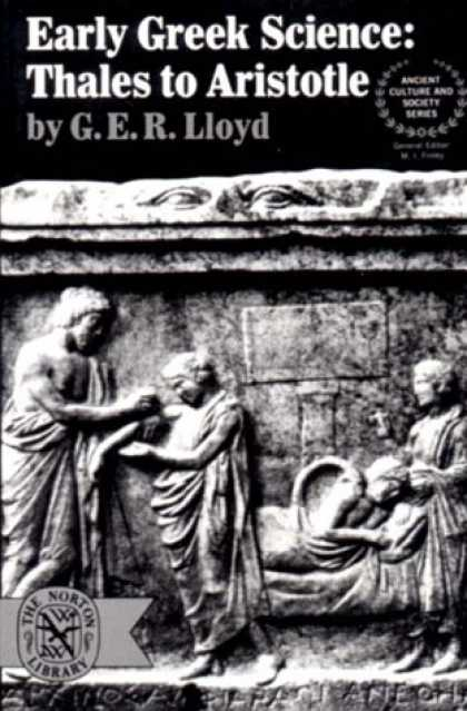Science Books - Early Greek Science: Thales to Aristotle