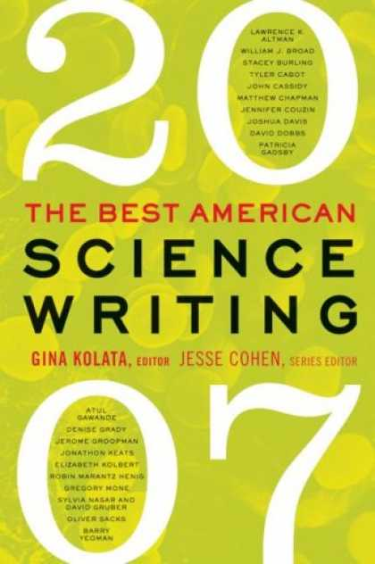 Science Books - The Best American Science Writing 2007
