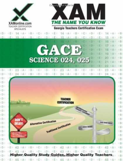 Science Books - GACE Science 024, 025