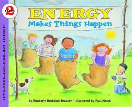 Science Books - Energy Makes Things Happen (Let's-Read-and-Find-Out Science 2)