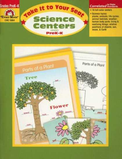 Science Books - Take It to Your Seat Science Centers, Grades PreK-K