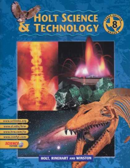 Science Books - Holt Science And Technology: Texas Edition - Grade 8