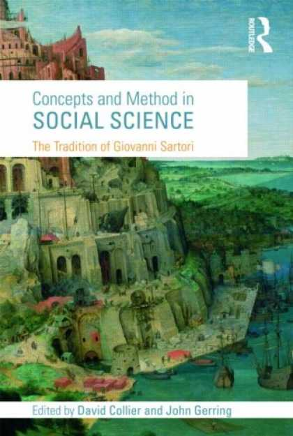 Science Books - Concepts & Method in Social Science: The Tradition of Giovanni Sartori