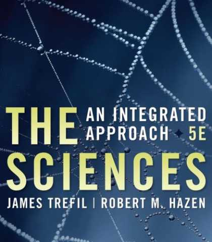 Science Books - The Sciences: An Integrated Approach