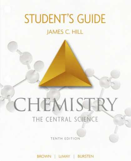 Science Books - Student's Guide for Chemistry: The Central Science