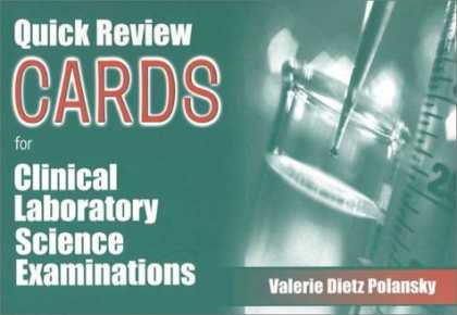 Science Books - Quick Review Cards for the Clinical Laboratory Science Examinations
