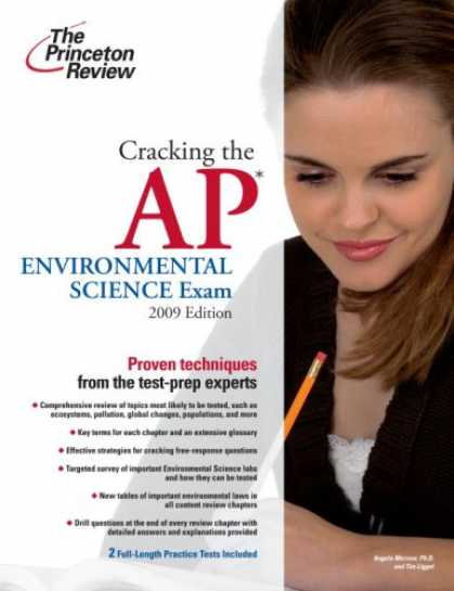Science Books - Cracking the AP Environmental Science Exam, 2009 Edition (College Test Preparati