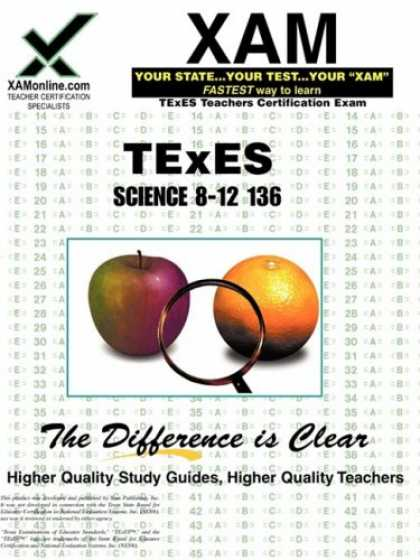 Science Books - TExES Science 8-12 136 (XAM TEXES)