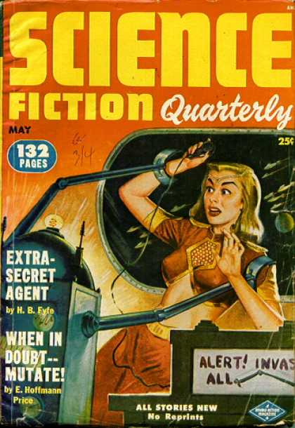 Science Fiction Quarterly 16