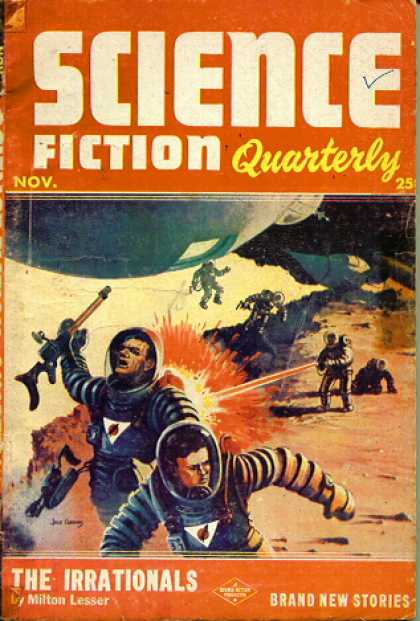 Science Fiction Quarterly 22